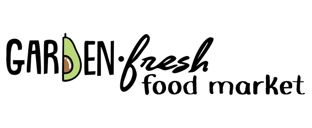 A theme logo of Garden Fresh Food Market